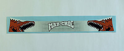 Mad-Croc Style Helmet Visor Sticker/strip - Karting