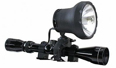 Clulite Shootalite 1000m Scope Rifle Lamp+Colour Filter + Car Power Lead