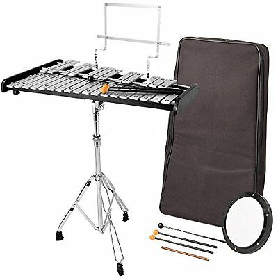 Essentials Glockenspiel Set With Stand, Case, Beaters, Practice Pad and Music