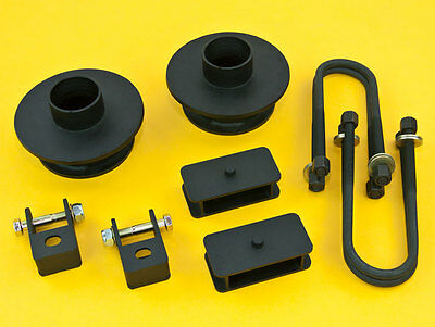 """1999-2010 F250//F350 Steel Rear 2/"""" Leveling Kit 4/"""" Axle 2WD W//O Auxiliary Spring"""