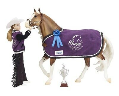 Breyer Horse Traditional Series #2063 Winners' Circle Accessory Set - Western -