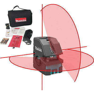 Self-Leveling Combination Cross-Line/Point Laser Set Makita SK103PZ New