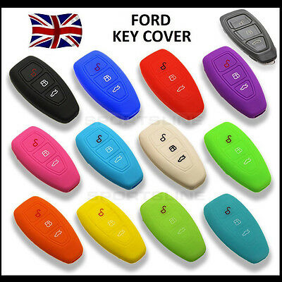 Key Cover For Ford Smart Remote Fob Case Protector Shell Bag Hull Cap Car 39*
