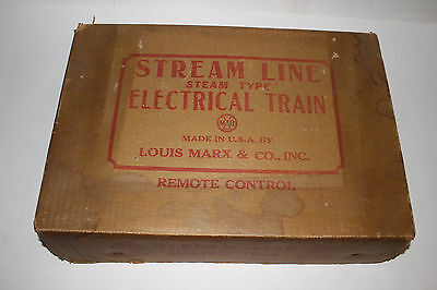 1950's Marx Steam Type Electric Train Set #5850 with Box