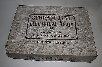 1950's Marx Steam Type Electric Train Set #4822 with Box #2