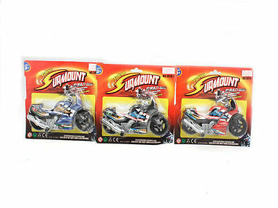 96 Motorbike Turbo Racing 3 Assorted Kids Toys Bulk Wholesale Lot