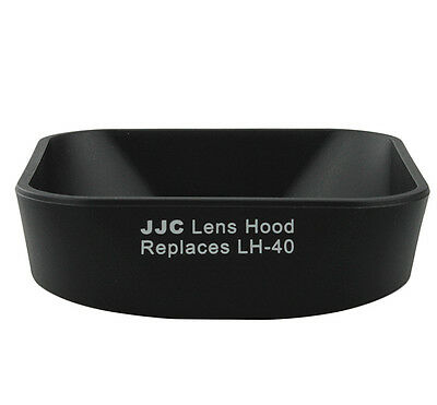 JJC LH-J40 Lens Hood for Olympus M.Zuiko 14-42mm 1:3.5-5.6 II R replaces LH-40