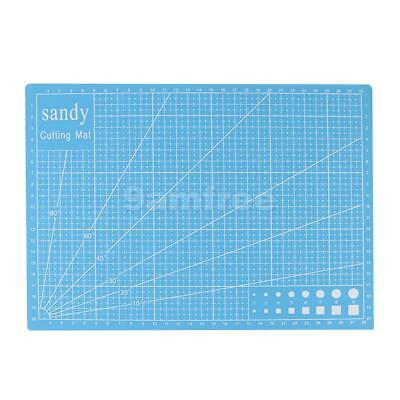 A4 Cutting Mat Crafts Printed Grid Lines Durable Cutting Board Tools 22x30cm
