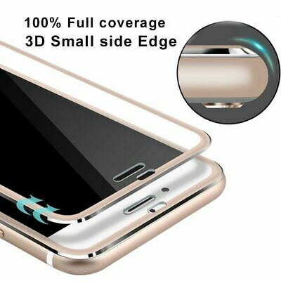3D Full Cover Curved Screen Protector Tempered Glass For iPhone X 6 6S 7 8 Plus