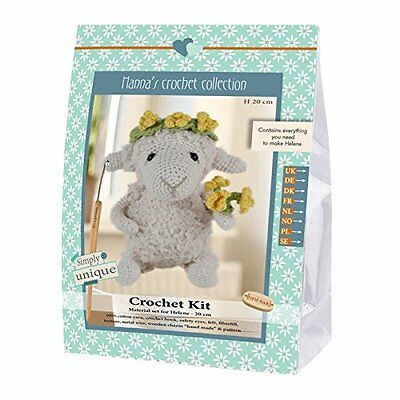 Go Handmade Helene The Sheep 20cm Crochet Needlework Complete Kit!