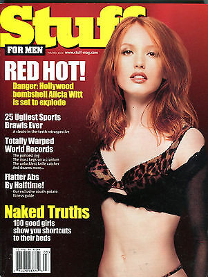 Stuff Magazine February/March 2000 Alicia Witt EX 060216jhe