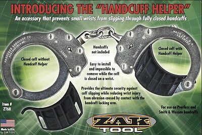 Zak Tool ZT68 Police Juvenile Handcuff Helper Handcuffing Suspects Small Wrists