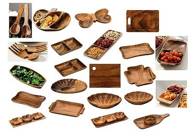 Socorro Acacia Wood Serving Dishes Sets Chopping Boards New Design And Range