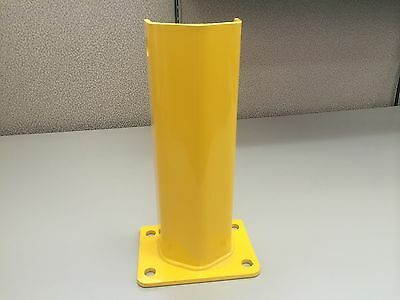 """Column Guard For Pallet Rack Frame 12"""" Used To Protect Teardrop Upright"""