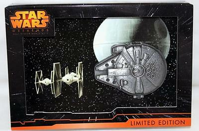 Disney Star Wars Weekends 2015 MILLENNIUM FALCON LE 2300 Hinged Pin Brand NEW