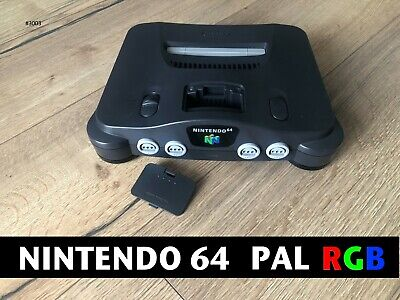 Console Nintendo 64 N64 PAL RGB Officiel (CMS) NUS-001(FRA) ►  THE REAL DEAL !