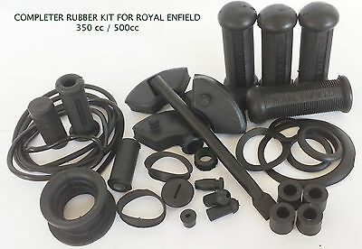 Motorcycle Bike Royal Enfield Bullet Complete Rubber Kit 350/500Cc