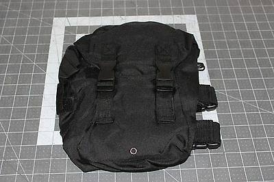 Tactical Scba Gas Mask Bag Side Carry Pouch *see Photos*