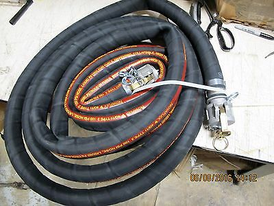 "1 ½"" x 25' Military Collapsible Cam Lock High Temp Dispensing Hose [Stor2]"