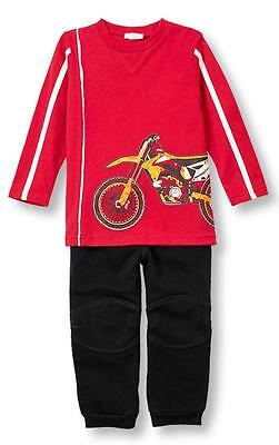 0d421dd90 LE TOP MOTO-X Baby Boys Faux Leather Jacket and Hat Racing Racer Set ...