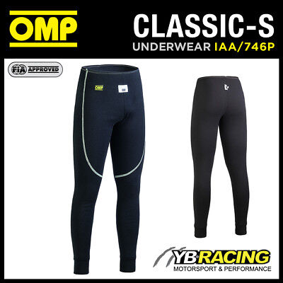 Sale! Iaa/746P Omp Classic-S Racing Long Johns Fireproof Base Layer Pants