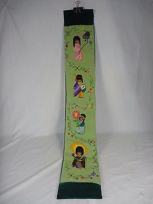 """Vintage DeGrazia Needlepoint Completed 7"""" x 43"""" Southwest"""