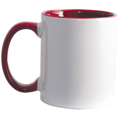 36 Maroon Inside & Handle 11oz Sublimation Mug