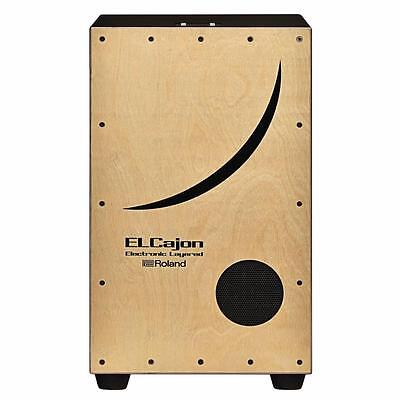 New! Roland EC-10 Electronic Layered Cajon w/ Integrated Amplifier and Speaker