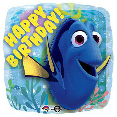 Finding Dory Happy Birthday Balloon 43cm Party Supplies Decorations