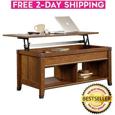 Living Room Furniture Mirrored Glass Coffee Table w/ 2 Drawers ...