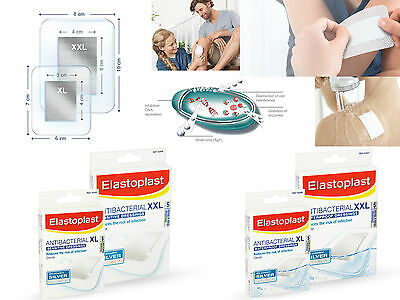Elastoplast Antibacterial Sensitive / Waterproof Dressing