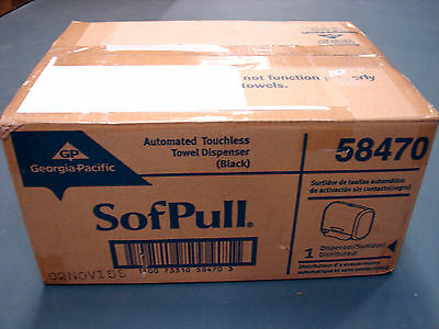 Georgia-Pacific GEP58470 SofPull Automatic Touchless Paper Towel Dispenser
