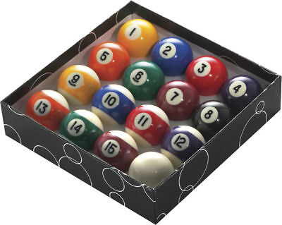 Powerglide Stripes And Spots Standard Pool Balls All Sizes (16 Piece)