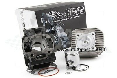 Kit cylindre Stage6 Streetrace fonte 50cc MBK Booster / Stunt