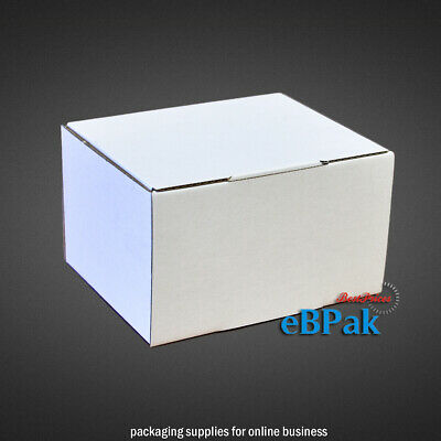 20 125x100x75mm Mailing Box Die-Cut * Light Strong Ideal for Small Accessories