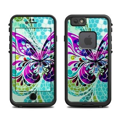 Skin for LifeProof FRE iPhone 6/6S - Butterfly Glass by Sanctus - Sticker Decal