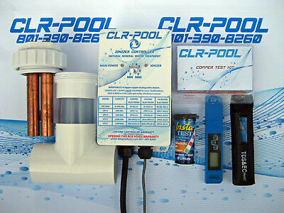 Cpi-3 Pool Ionizer: 50K Gal. Treat Your Pool. W/ Copper Ionizers