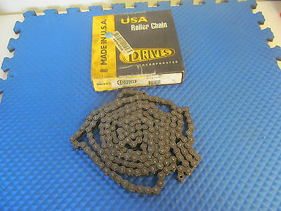 New Drives Inc Roller Chain 10 FT 40-1R