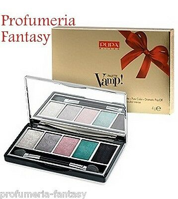 Pupa Palette Vamp! Gold Edition 5 Ombretti 004 Couture Eyeshadow