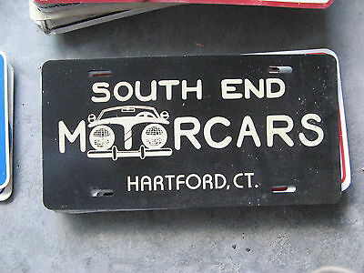 South End Motorcars Hartford Connecticut Ct Dealership Booster License Plate