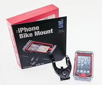 BAR FLY Optrix iPhone 5/5s Waterproof Handlebar Bike Mount 31.8mm NEW