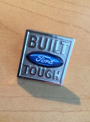 FORD TRUCK BUILT TOUGH, LAPEL PIN .75 Inch