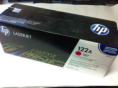 New Sealed Genuine Oem Hp 122A Q3963A Magenta Toner Cartridge 2550 2820 2840