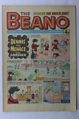 The Beano #1745 December 27th 1975 FN Vintage Comic Bronze Age Dennis The Menace