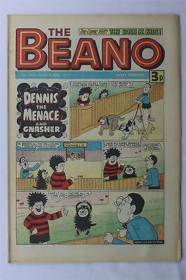 The Beano #1706 March 29th 1975 FN Vintage Comic Bronze Age Dennis The Menace