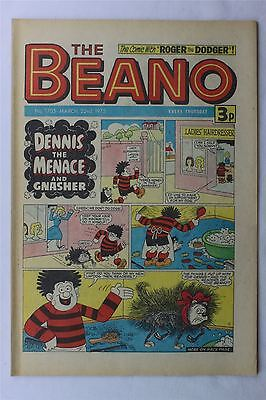 The Beano #1705 March 22nd 1975 FN Vintage Comic Bronze Age Dennis The Menace