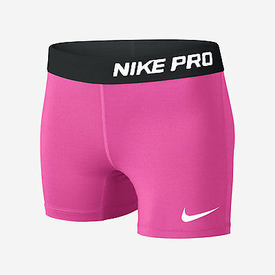 "Nike Pro Core 3"" Girl's Compression Shorts NEW!"