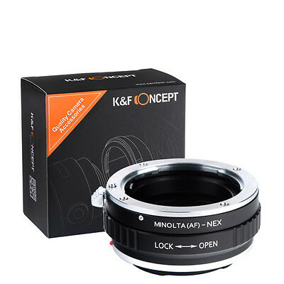 Adapter Ring for Sony Alpha Minolta AF A-type Lens to Sony NEX E-Mount Mirrorles