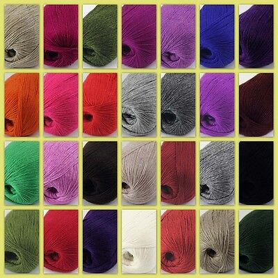 NEW Sale Luxurious Soft 50g Mongolian 100% Cashmere Hand Knitting Baby Wool Yarn