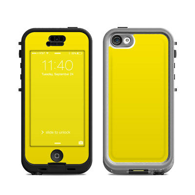 Skin Kit for Lifeproof iPhone 5c NUUD ~ SOLID STATE YELLOW ~ Decal Sticker
